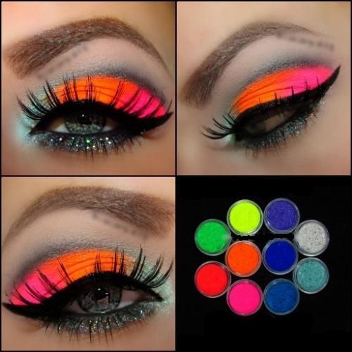 10 MYO Ultra Bright Color Set Eyeshadow Pigment