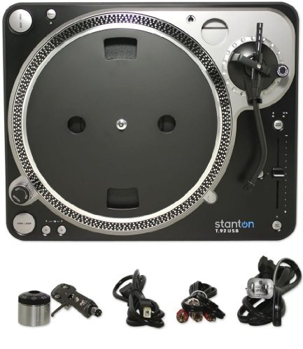 Brand New Stanton T.92usb Direct Drive Usb Turntable for Easy Digitazing and Transferring Music