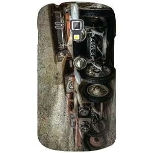Samsung Galaxy S Duos 7582 Classy Matte Finish Phone Cover - Matte Finish Phone Cover