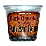 Trader Joes Dark Chocolate Covered Espresso Beans 14 oz.