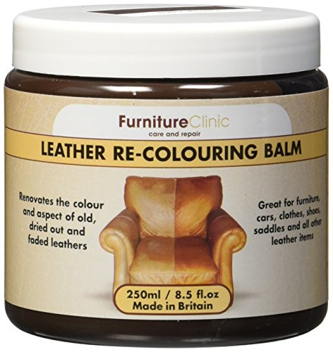 Leather Re-coloring Balm - 8.5 Fl. Oz. (250ml) (Dark Brown) (Leather Dye compare prices)