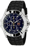Seiko FC Barcelona Chronograph Blue Dial Stainless Steel Mens Watch SNDD81