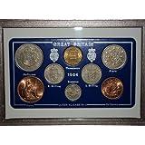 1964 GB Great Britain British Coin Birth Year Gift Set (51st Birthday Present or Wedding Anniversary)