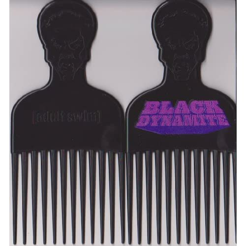 Amazon.com : Black Dynamite Afro Pick : Decorative Hair ...