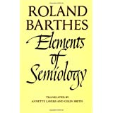 Elements of Semiology ~ Roland Barthes