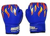 〔mikan〕 ボクシング グローブ 「子供用 青」 選べる3色 練習 用 初心者 格闘技