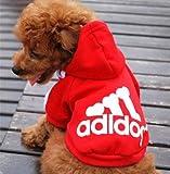 Freefisher Hundemantel Adidog Style (Schwarz, L) - 5
