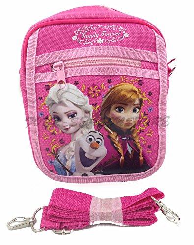 Disney-Frozen-Queen-Elsa-Camera-Bag-Case-Little-Girl-Bag-Handbag-Licensed-Pink