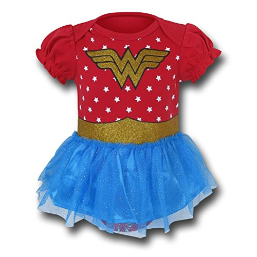 Wonder Woman Costume Dress Infant Snapsuit