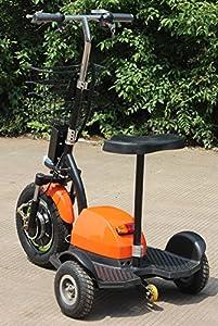 500W ElektroScooter Zappy! (Orange) bis 30km/h