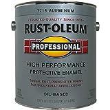 Rust-Oleum Professional High Performance Protective Enamel Oil Base Exterior, Interior Aluminum 1 Gl