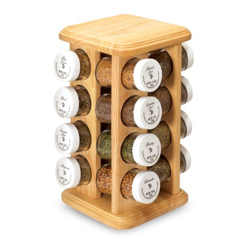 revolving spice rack plans