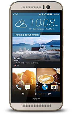 HTC One M9(s) GSM Factory Unlocked Cellphone, 13MP, 16GB, Silver - International...