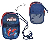 Toy - Handytasche / Geldb�rse / Brustbeutel - Spiderman - Geldbeutel Portemonnaie f�r Kinder - Geld Handy Geldtasche Spider Man Amazing Action Spinne
