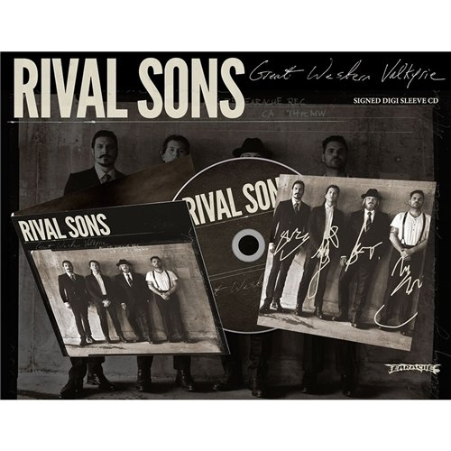 RIVAL SONS - GREAT WESTERN VALKYRIE - SIGNED EXCLUSIVE -NEW CD ALBUM