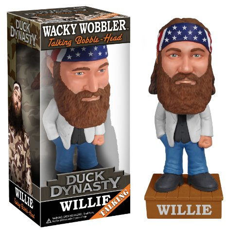 Funko Duck Dynasty Willie Robertson Talking Wacky Wobbler - 1