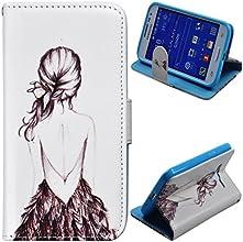 Voguecase® Samsung Galaxy Core Prime SM-G360 SM-G360F Etui Housse Magnétique Portefeuille PU Cuir Closure Portefeuille Case Cover(arrière)de Gratuit stylet l'écran aléatoire universelle