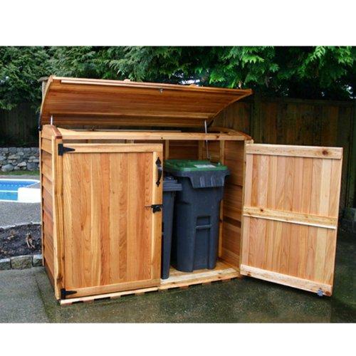 Garbage Sheds For Trash Cans Webnuggetz Com
