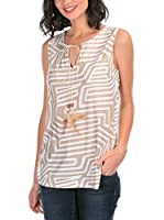 Never Paris Top Mona (Beige)