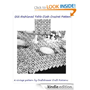 Tablecloth vintage crochet pattern - TheFind