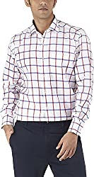 Silkina Men's Regular Fit Shirt (VPOINT900F, 38)