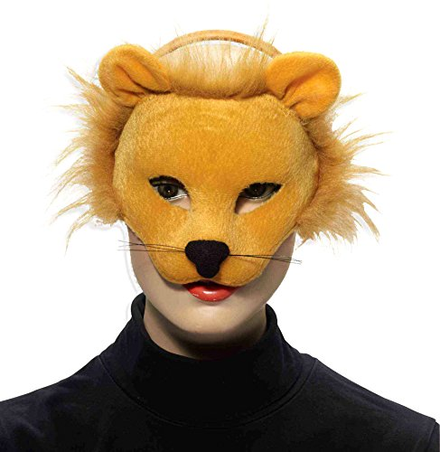 Forum Novelties Deluxe Plush Lion Animal Half Mask