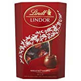 Lindt Lindor Milk Chocolate Truffles With a Smooth Melting Centre 200g - Pack of 4