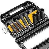 DEWALT DW22812 1/2-Inch 10-Piece IMPACT READY Socket Set