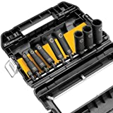 DEWALT DW22812 1/2-Inch 10-Piece Impact-Ready Socket Set