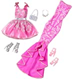 Barbie Night Looks Glam Party Fashion Pack