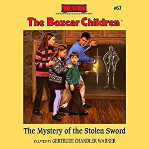 The Mystery of the Stolen Sword Audiobook