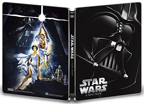 スター・ウォーズ エピソードIV/新たなる希望 スチールブック仕様 [Blu-ray]