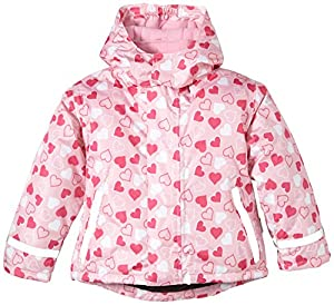Playshoes Schneejacke, Skijacke, Snowboardjacke Herzchen - Abrigo para la nieve para niñas