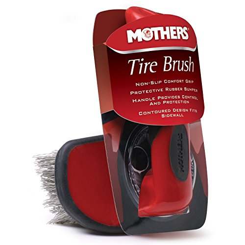 Mothers Contoured Tire Brush (Mothers Wheel Brush compare prices)