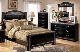 Signature Design by Ashley - Constellations 4-Piece Queen Bedroom Set C