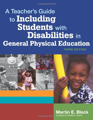 A Teacher's Guide to Including Students with Disabilites...