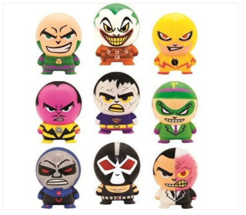 DC Villains Party Bag Fillers- Buildable Figures- Pack Of Ten- Awesome Party Fun Toys or Stocking Fillers
