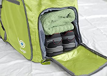 Bago Travel Duffel Bag For Women & Men - Foldable Duffle For Luggage Gym Sports 2