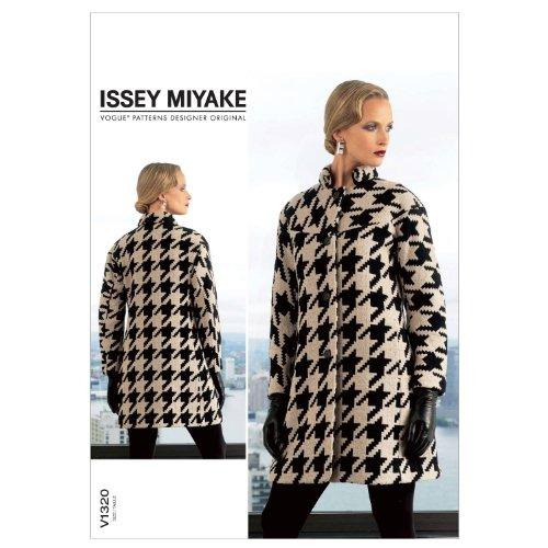 VOGUE PATTERNS V1320E50 Misses' Coat Sewing Pattern, Size E5 (14-16-18-20-22)