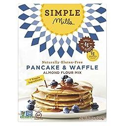 Simple Mills Pancake & Waffle, Almond Flour Mix - 10.7 oz - 3 pk