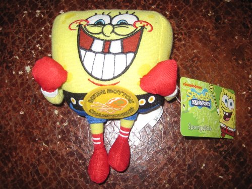 "Spongebob Squarepants Bikini Bottom Championship 7"" Plush"