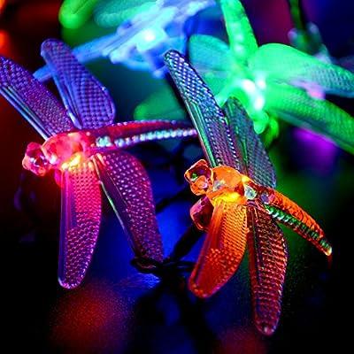 lederTEK Fairy Dragonfly String Lights