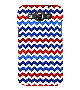 Wave Pattern Wallpaper Cute Fashion 3D Hard Polycarbonate Designer Back Case Cover for Samsung Galaxy Quattro Duos :: Samsung Galaxy Grand Quattro :: Samsung Galaxy Win Duos I8552