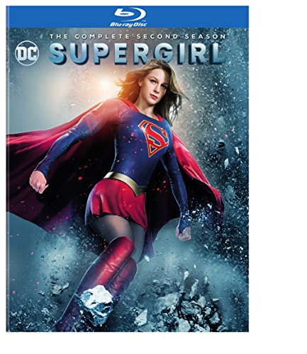 Blu-ray : Supergirl: The Complete Second Season (Boxed Set, Slipsleeve Packaging, 4 Disc)