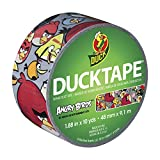 Duck Brand 281512 Angry Birds Printed Duct Tape, 1.88-Inch by 10 Yards, Single Roll