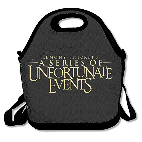 A Series Of Unfortunate Events Lunch Bag Lunch Boxes, Waterproof Outdoor Travel Picnic Lunch Box Bag Tote With Zipper And Adjustable Crossbody Strap (Doc Mcstuffins Toaster compare prices)