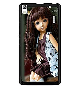 PrintDhaba Cute Doll D-1031 Back Case Cover for LENOVO K3 NOTE (Multi-Coloured)