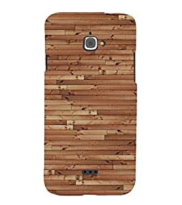 Classic Wooden Design Cute Fashion 3D Hard Polycarbonate Designer Back Case Cover for InFocus Bingo 50