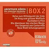 """ELTERN-Edition """"Abenteuer Hören"""" 2 - Die Box für die Großen (6-12 Jahre). 14 CDs"""