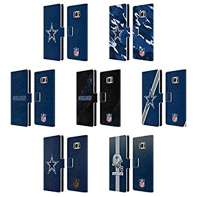 Official NFL Dallas Cowboys Logo Leather Book Wallet Case Cover For Samsung Galaxy S7 edge